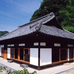 茨城の民家再生 (南東の外観)