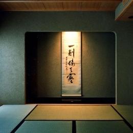 伽留羅ー世田谷の事務所併用住宅 (1階和室)