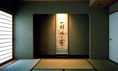 世田谷の事務所併用住宅 ー伽留羅(カルラ)ー (1階和室)