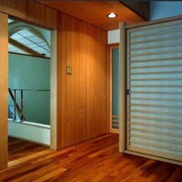 伽留羅ー世田谷の事務所併用住宅 (寝室)