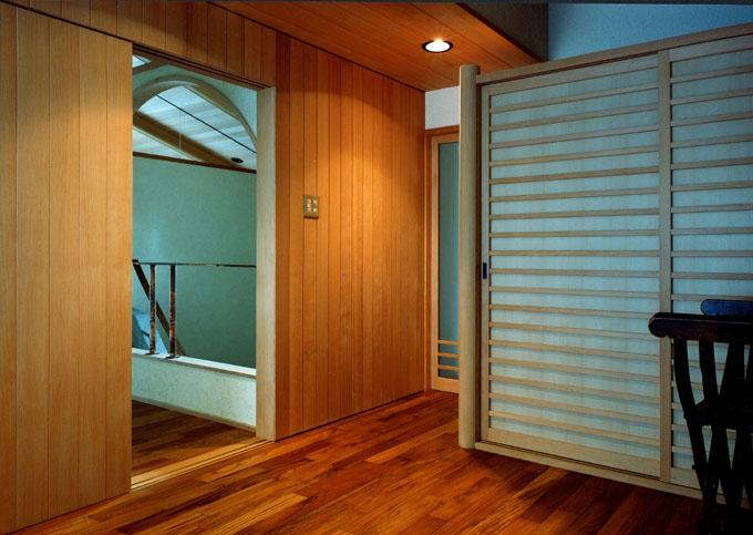 伽留羅ー世田谷の事務所併用住宅の写真 寝室