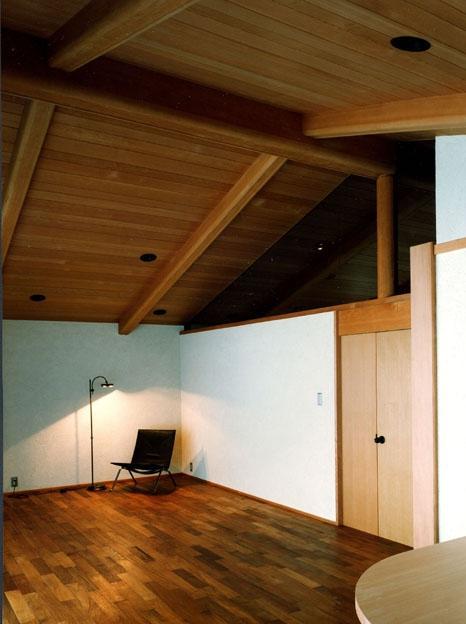 伽留羅ー世田谷の事務所併用住宅の写真 リビング