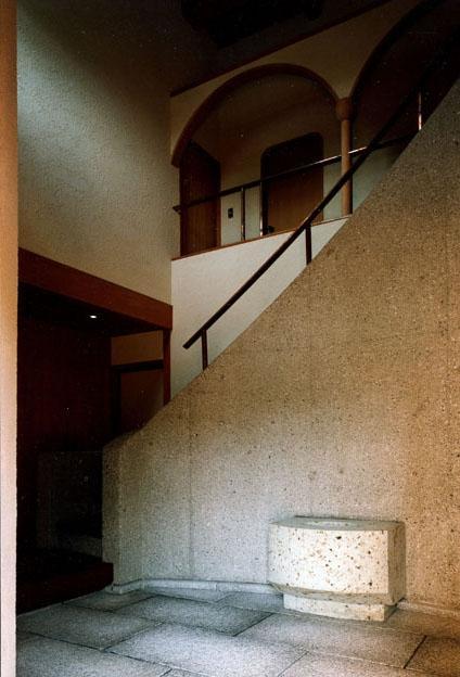 伽留羅ー世田谷の事務所併用住宅の写真 玄関ホール