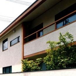 世田谷の事務所併用住宅 ー伽留羅(カルラ)ー (西側外観)