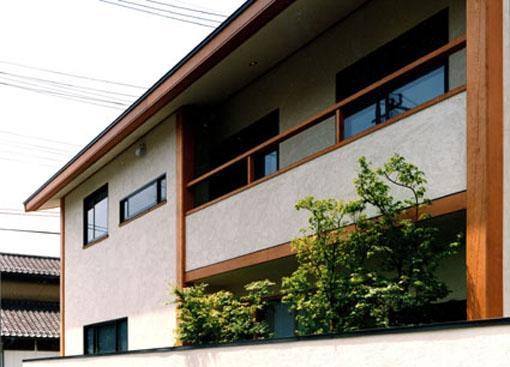 伽留羅ー世田谷の事務所併用住宅の部屋 西側外観