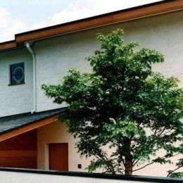 伽留羅ー世田谷の事務所併用住宅 (東側外観)