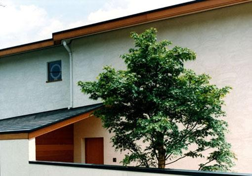 伽留羅ー世田谷の事務所併用住宅の部屋 東側外観