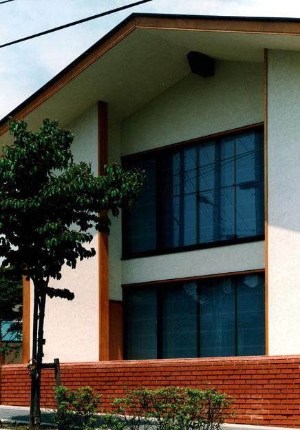 伽留羅ー世田谷の事務所併用住宅の部屋 南道路側外観