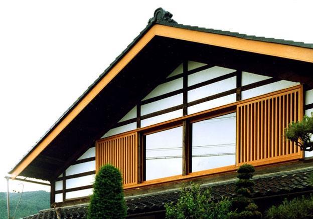 岡谷の民家再生の部屋 南東の外観