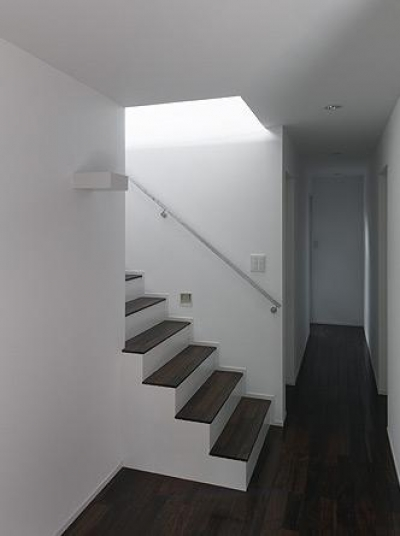 大開口の家 (廊下・階段)