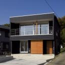 大開口の家