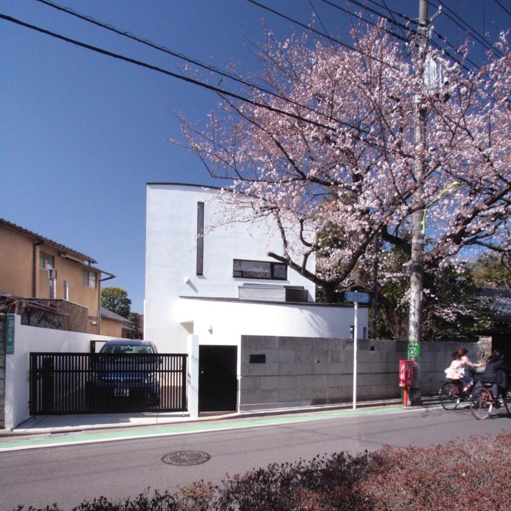 北烏山の家(庫裏、外断熱の2世帯住宅) (外観)