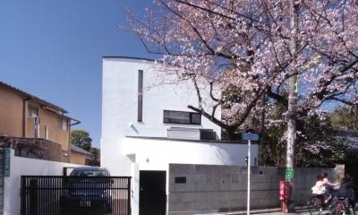 北烏山の家(庫裏、外断熱の2世帯住宅)