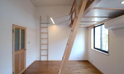北烏山の家(庫裏、外断熱の2世帯住宅) (子供室)