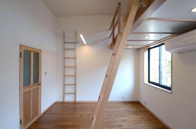 子供室 (北烏山の家(庫裏、外断熱の2世帯住宅))