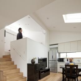 若林の家 (DK、寝室)
