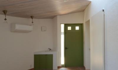 北烏山の家(庫裏、外断熱の2世帯住宅) (華道教室)