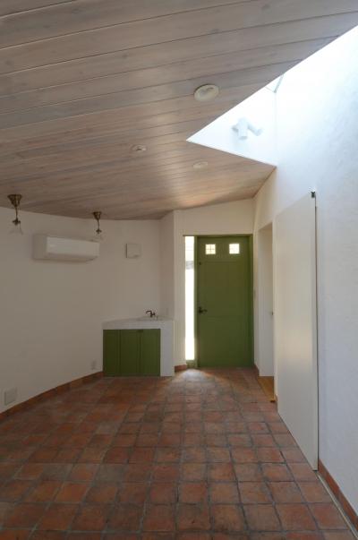華道教室 (北烏山の家(庫裏、外断熱の2世帯住宅))