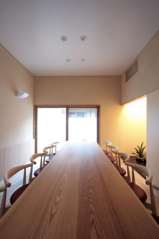 北烏山の家(庫裏、外断熱の2世帯住宅) (応接室(南庭面))