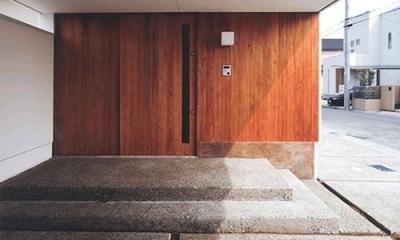 朝日の家Ⅰ (玄関)