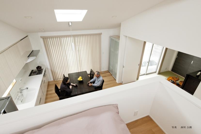 若林の家の部屋 寝室、DK