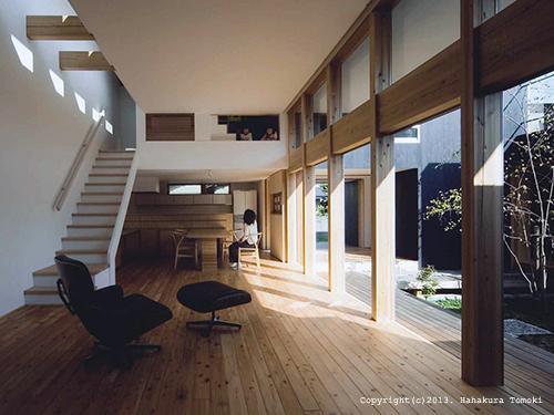 内原の家の写真 大開口の開放的なLDK