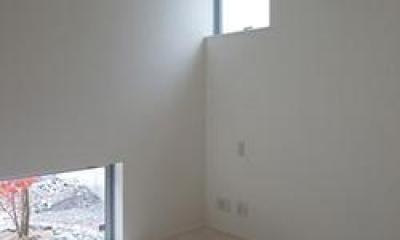 竈山の家 (白を基調とした空間)