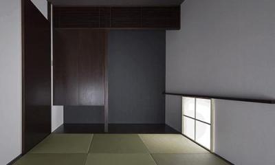 琉球畳を敷き詰めた和室|朝日の家 Ⅱ