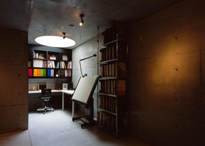 日吉台の家の写真 書斎