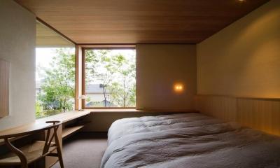 主寝室|宝塚の住宅2
