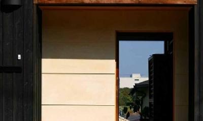 玄関アプローチ|長久手の庭