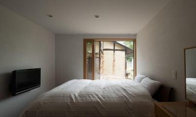 おかやまのいえ ー里山や隣近所との繋がりを住み継ぐ家ー (寝室)