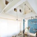 サオビ一級建築士事務所の住宅事例「金沢文庫のボルダリングウォールのある家」