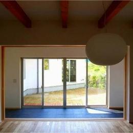 竹林の家 (障子 open)