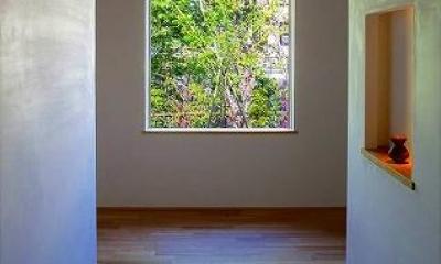 竹林の家 (玄関ホール (日中))