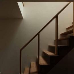 二門開口の家 (オープン型階段)