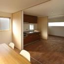 後藤孝の住宅事例「二門開口の家」