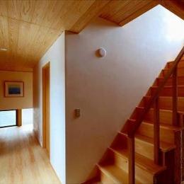 知多の家 (階段・廊下)