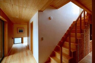階段・廊下 (知多の家)