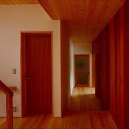 知多の家 (廊下)