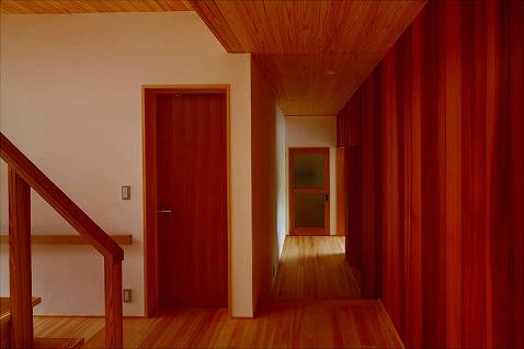 知多の家の写真 廊下