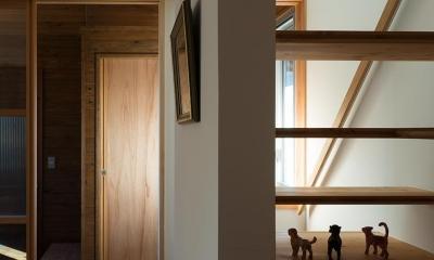 階段|国府台の家