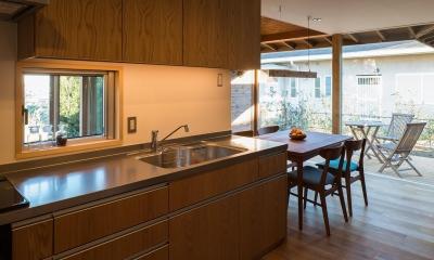 キッチン|国府台の家