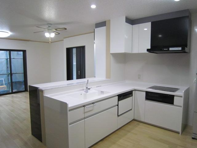 M邸耐震・エコリフォーム改修の部屋 LDK(改修後内観2)