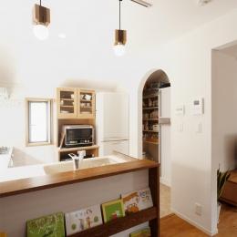 キッチン(パントリー) (y邸・子ども達のために 自然素材で楽しくリノベーション)