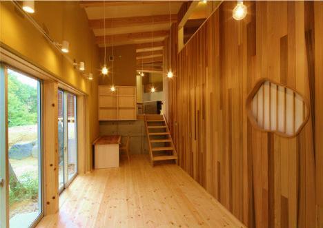 美浜の家 (庭に面した和風な空間)