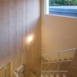 宮の沢の家 (ハイサイドライトのある階段)