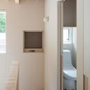 宮の沢の家の写真 階段・トイレ