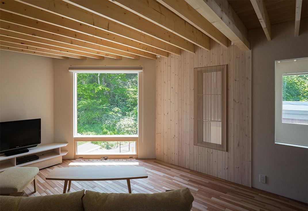 建築家:富谷洋介「宮の沢の家」