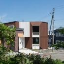 宮の沢の家の写真 多角形の外観